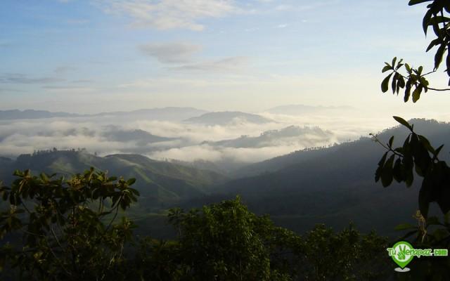 Panoramica Senahú - Foto: Jorge M. Peláez Quiroa