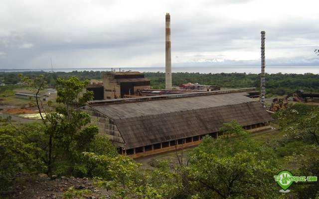 Antiguas instalaciones de la explotación minera de Exmibal en El Estor, Izabal - Foto: Jorge M. Peláez Q.