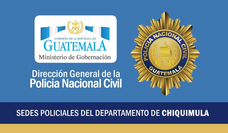 Policía Nacional Civil - Chiquimula, Chiquimula
