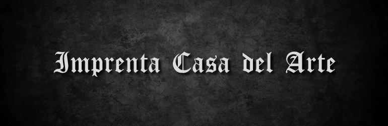 Imprenta Casa Del Arte
