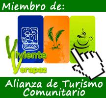 Miembro de la Alianza de- Turismo Comunitario Viviente Verapaz