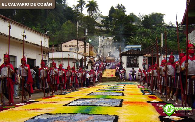 El Calvario de Cobán - Foto02 - semana santa