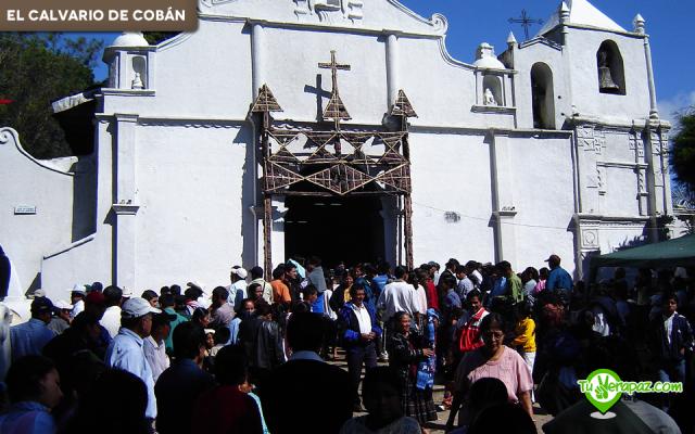 Celebración del día del Señor de Esquipulas en el Calvario de Cobán. Foto: Erick Sierra - 2006