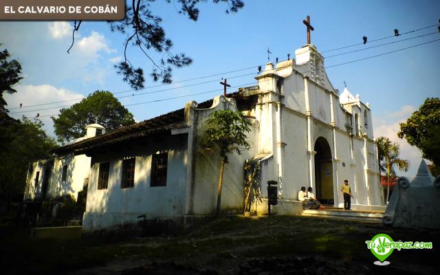 Vista lateral del Templo del Calvario. Foto: Fredy Barrios 2013