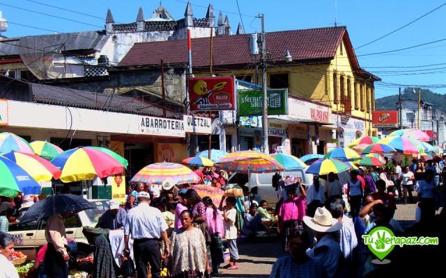 Guía Turística Verapaces - 059 Mercado Central de Cobán