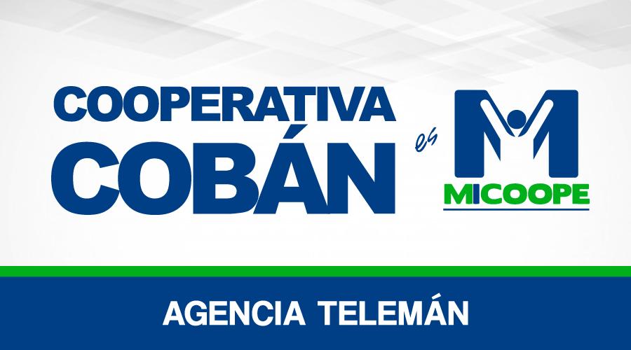 Cooperativa Cobán - Agencia Telemán