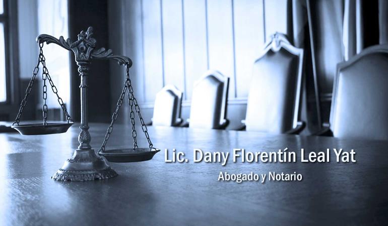 Lic. Dany Florentín Leal Yat