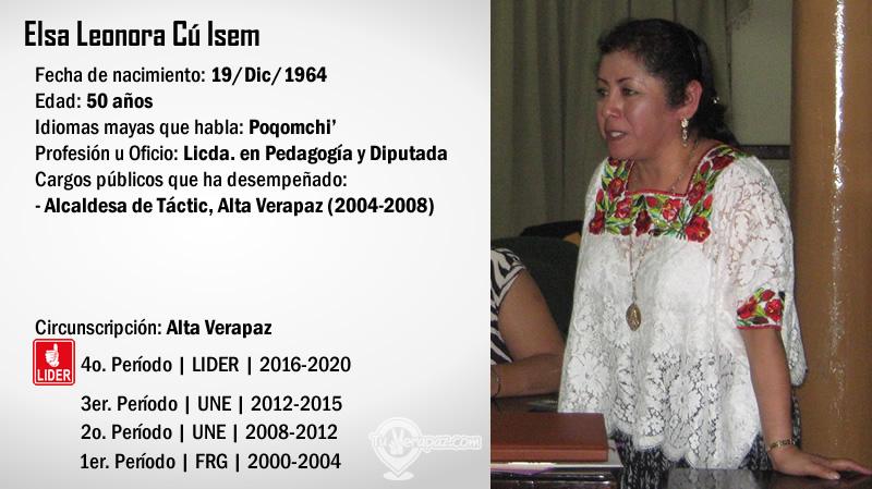 Perfil - Elsa Leonora Cu Isem