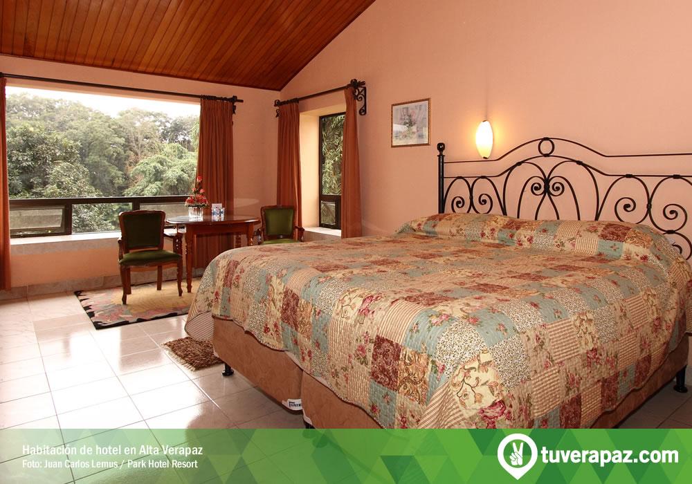 Habitación de hotel en Alta Verapaz