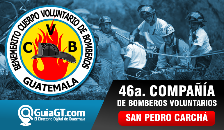 Bomberos Voluntarios - San Pedro Carchá