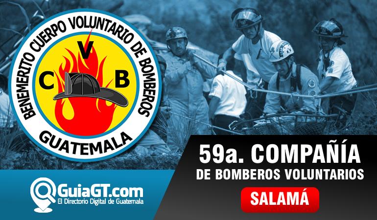 59a. Compañía Bomberos Voluntarios - Salamá