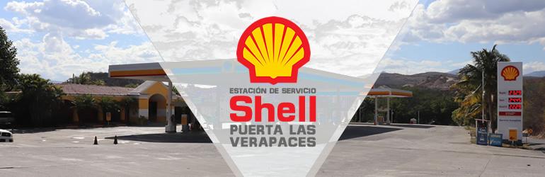 Gasolinera Shell Puerta las Verapaces