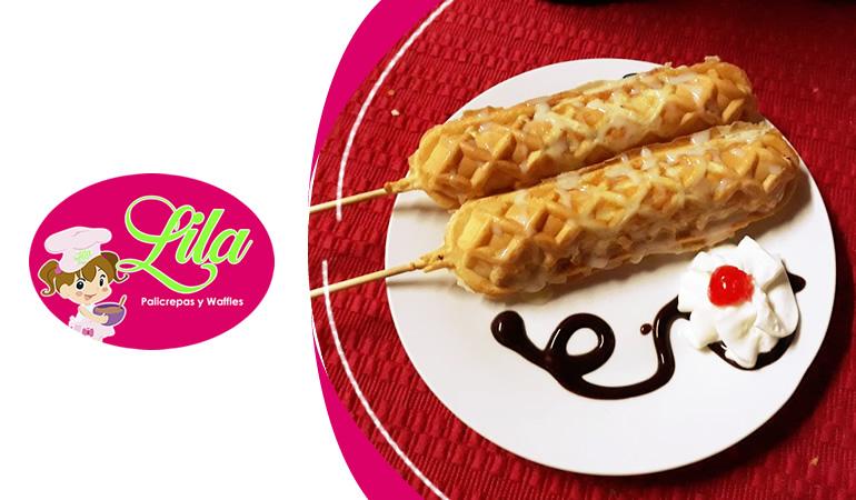 Lila - Crepaletas y Waffles