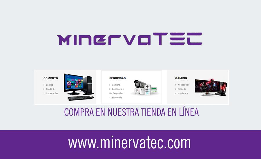 Minervatec - Tienda de Informática