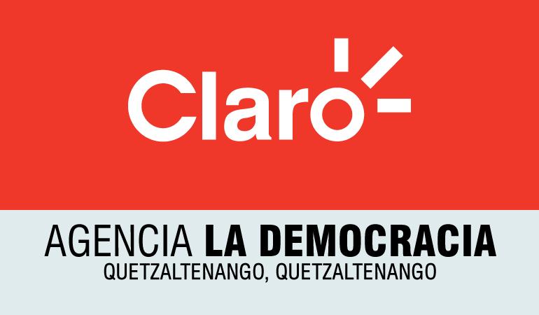 Claro – Agencia La Democracia - Quetzaltenango