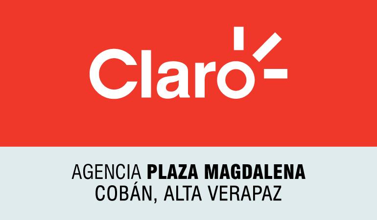 Claro - Agencia Plaza Magdalena Cobán