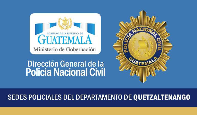 PNC Policía Nacional Civil - Comisaria 41 Quetzaltenango