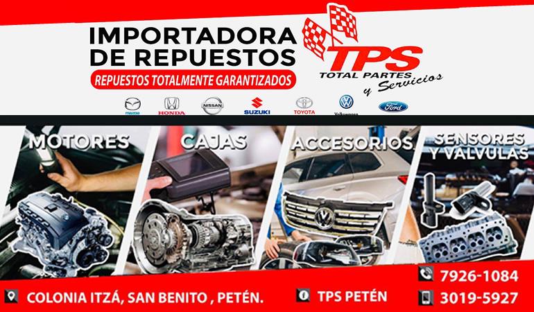 Total Partes y Servicios - TPS