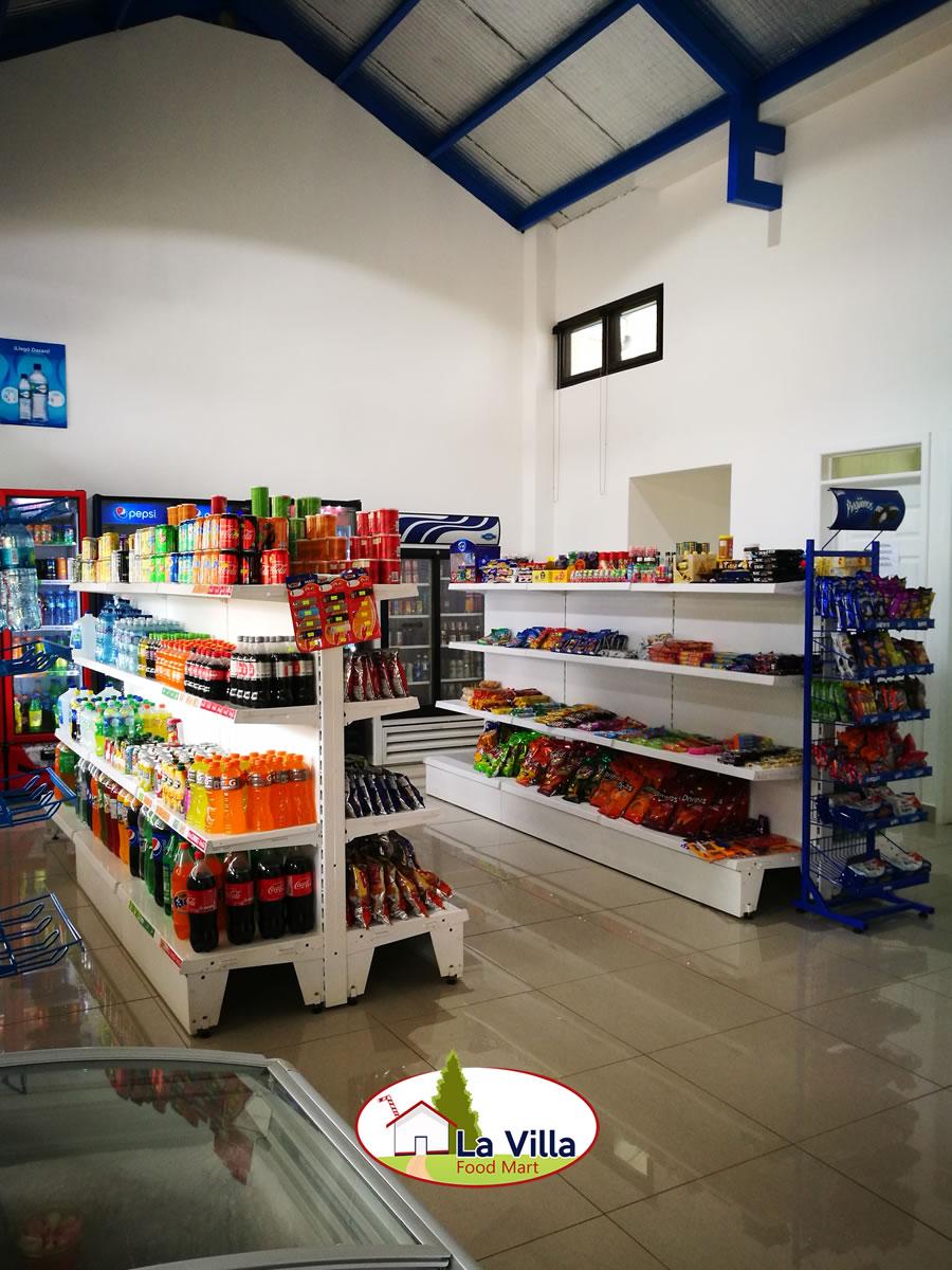 Menu Food Mart La Villa